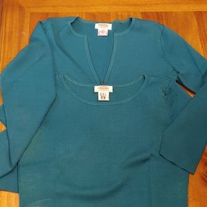 Talbots sweater set